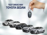 Test-Drive a Toyota and stay in Marriot!!